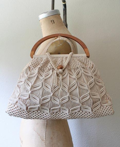 вязание сумку техника макраме.