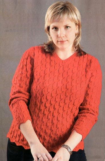 Вязаные Пуловеры Для Полных Женщин