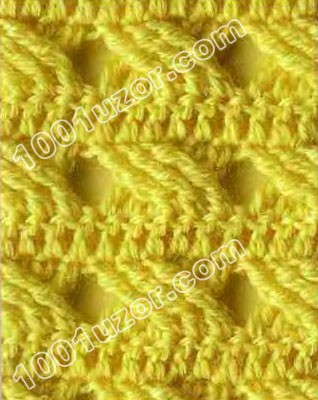 вязание крючком кофты