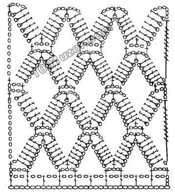 Представляем вашему вниманию несложную схему вязания и предлагаем попробовать свои силы в изготовлении своими руками...