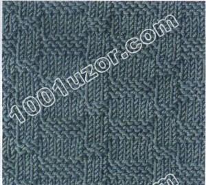 Рельефные узоры для вязания на спицах.