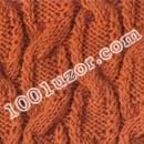 Узоры косы связанные спицами.  Схема вязания ажурных узоров спицами.