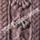 Редкие узоры: араны. цитатой. узоры и схемы вязания спицами.
