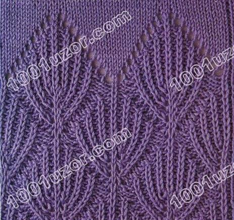 узор шарф труба спицами. связать капюшон просто и быстро. узоры.